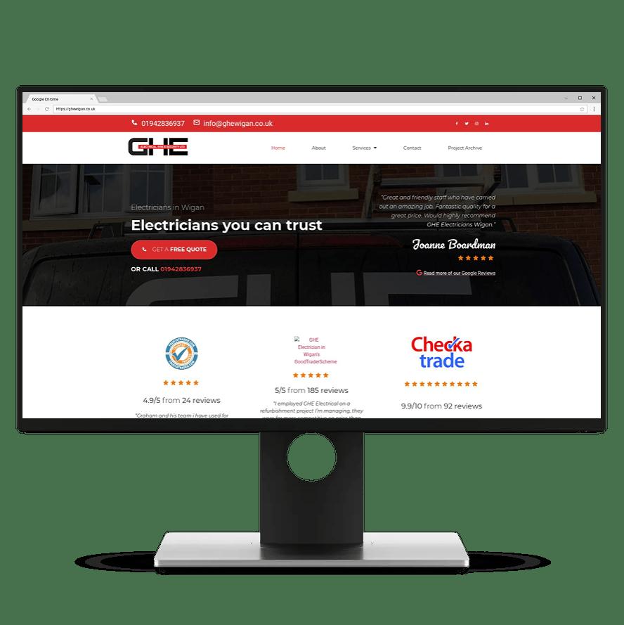 web design in abergele